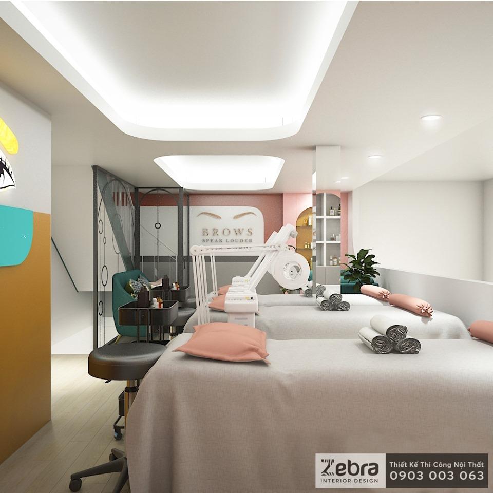 thiết kế nội thất spa