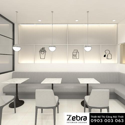 thiết kế nội thất trà sữa takasi chato
