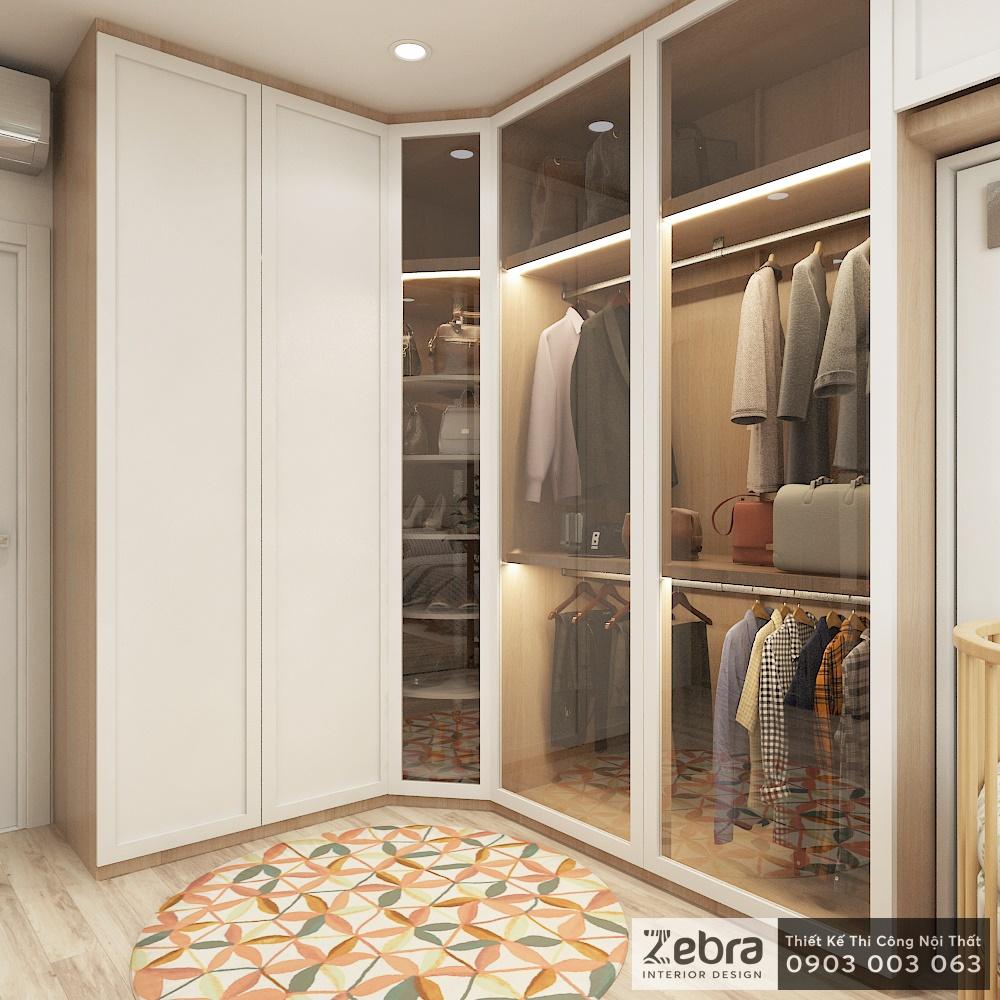 thiết kế thi công nội thất căn hộ botanica