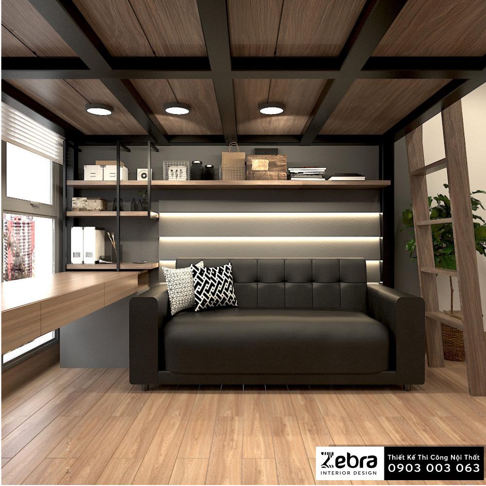 thiết kế thi công nội thất căn hộ vinhomes