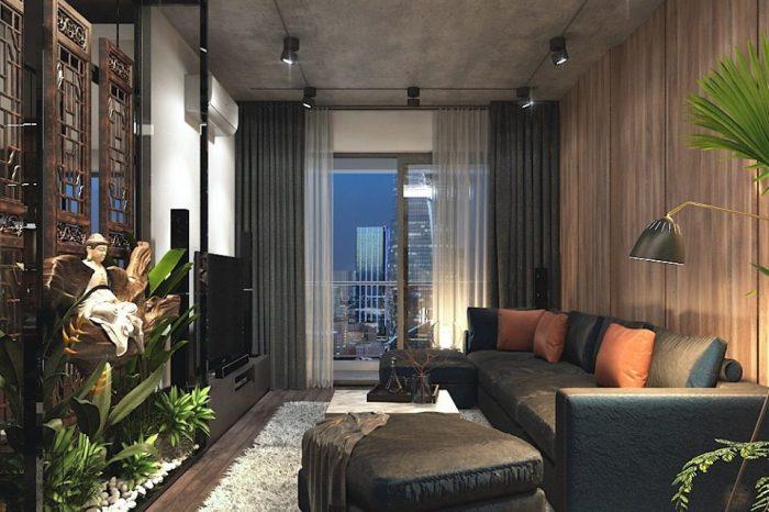 Thiết kế thi công nội thất căn hộ người nổi tiếng